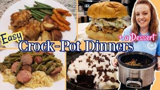 SLOW COOKER DINNERS  WHAT&#39S FOR DINNER?  CROCK-POT DESSERT RECIPE  NO. 62