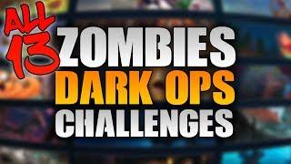 "How To Unlock All DARK OPS Hidden Challenges In BO4 ZOMBIES ""So Far"" (Black Ops 4 Zombies Challenge)"
