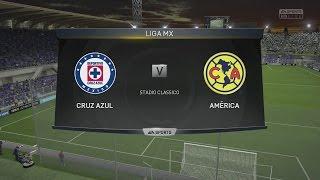 (PS4) FIFA 15 | Cruz Azul vs Club América - Next-Gen Full Gameplay (1080p HD)