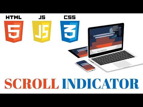 [JavaScript] Tutorial of creating Scroll Indicator thumbnail