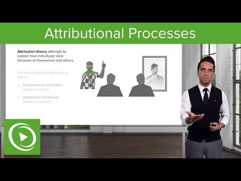 Attributional Processes: Attributing Behavior – Psychology | Medical Video