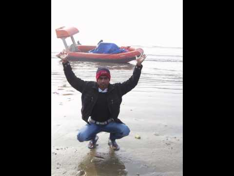 a strong man carry a boat on his shoulder