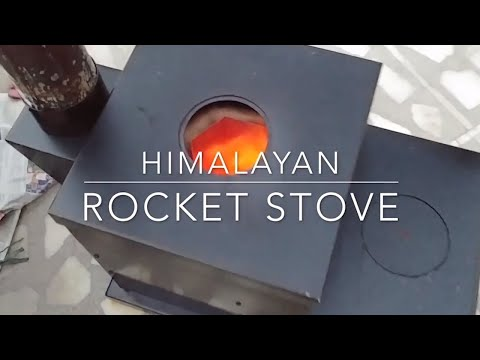 ISHOW 2019:  Himalayan Rocket Stove