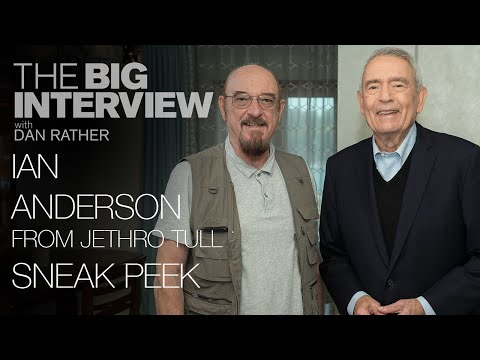 Ian Anderson of Jethro Tull talks playing the flute in rock | The Big Interview with Dan Rather