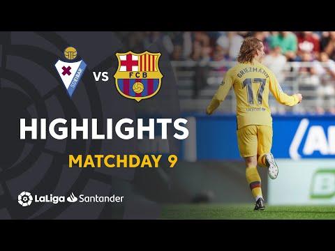 Highlights SD Eibar vs FC Barcelona (0-3)