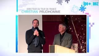 Alpe d'Huez - Voeux du Maire Invité surprise Christian PRUDHOMME