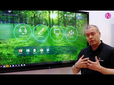 i3-Technologies demonstrates interactive display: easy for end users