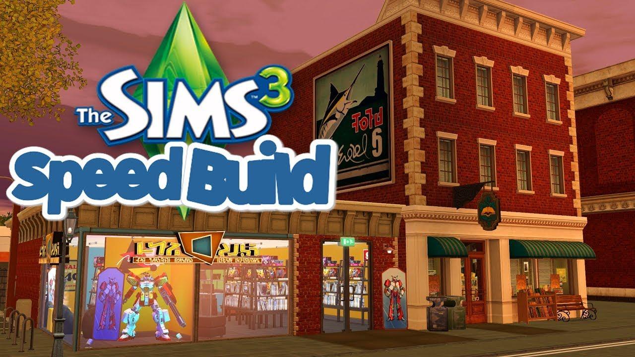 Sims 3 Comic Book Store