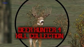 Deer Hunter 4 kill collection
