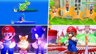 Mario & Sonic - All Secrets & Nintendo Easter Eggs