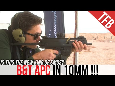NEW! The B&T APC SMG in 10mm! [SHOT Show 2020]