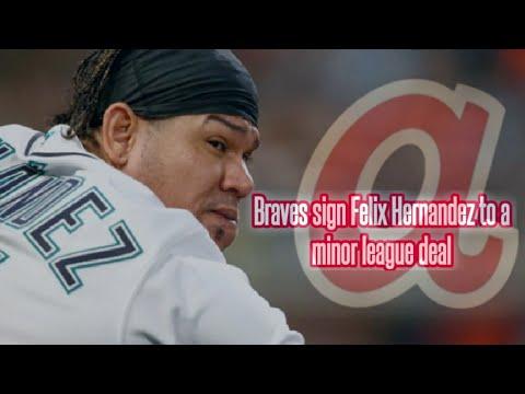 Braves sign Felix Hernandez to minor league deal