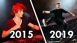 How Martin Garrix Music Has Changed Over Time (2011 - 2019)
