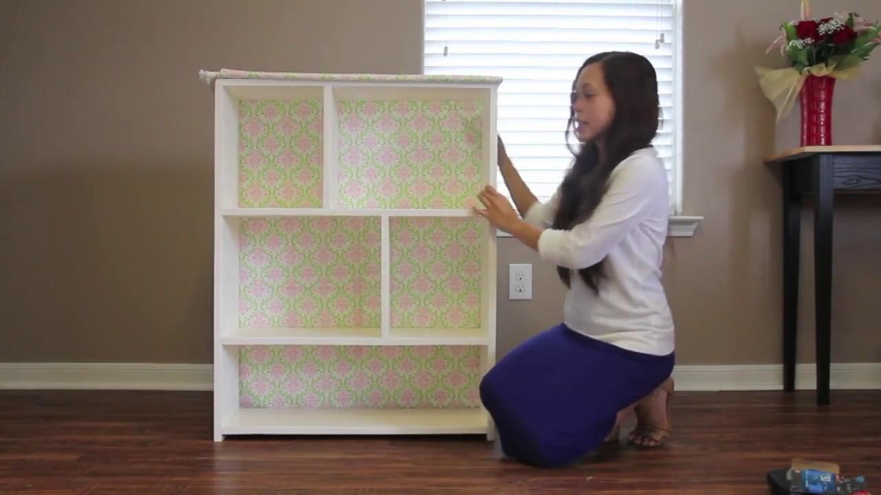 diy bookcase small closet