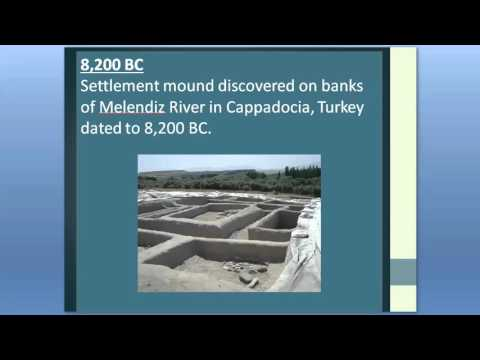 Timeline of World History 8400 to 7600 BC