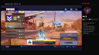 AyyAjw Live PS4 Broadcast fortnite battle royal a new skin came out