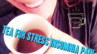 Herbal Recipe for Stress Insomnia Anxiety Pain Allergies Inflammation Pets