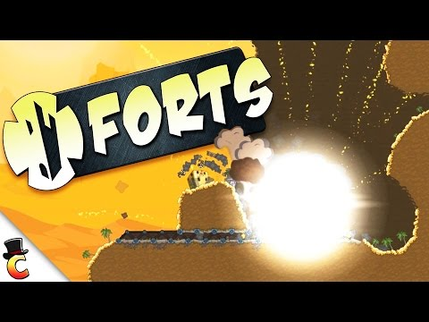 Rube Goldberg Forts!! - Forts Gameplay - Forts Campaign