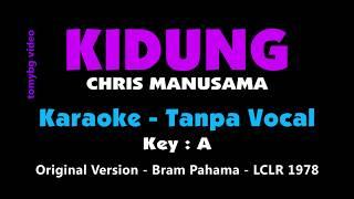 Kidung - Chris Manusama. LCLR 1978 Bram Pahama version. Karaoke - tanpa vocal.