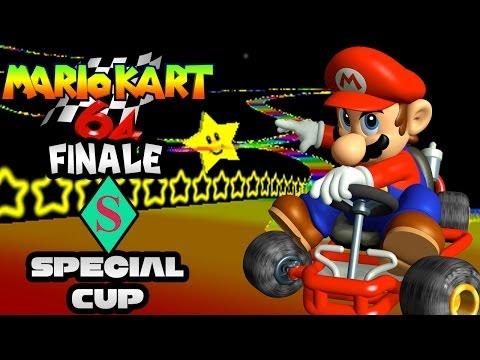 Mario Kart 64 FINALE: Special Cup 150cc!  Race to Mario Kart 8 Marathon!