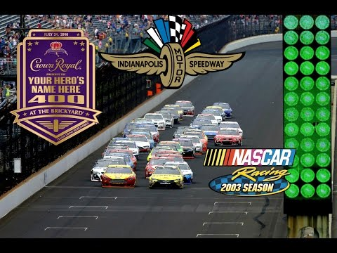 Nr2003 Crown Royal 400 Indianapolis - Not the fastest