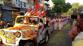 RSS path sanchalan Durga shakti (Female sanchalan )