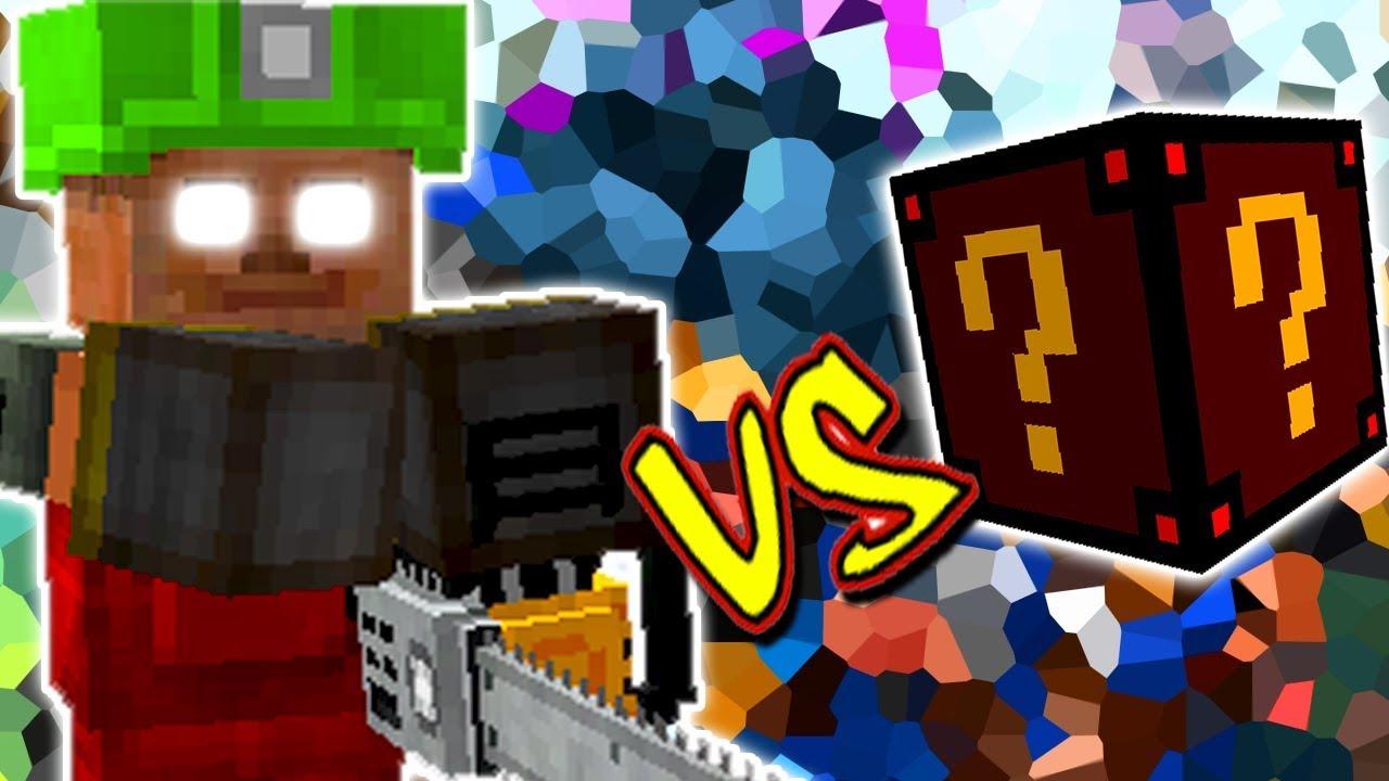 Steve Doido Vs Lucky Block Assustador Minecraft Lucky Block