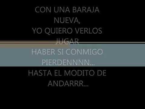EL MUCHACHO ALEGRE (letra) TAMBORAZO NORTENO