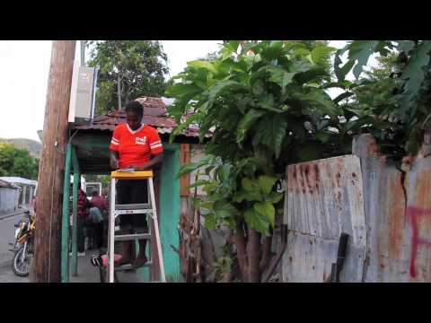 Microgrid Powers Homes in Haiti