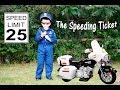 KIDZ MOTORZ Police Motorcycle Little Heroes Kid Cops The Speeding Ticket Video Parody