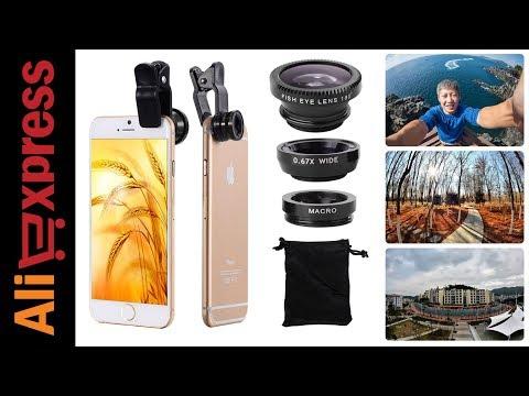 Telefonu DSLR'a dönüştüren lens seti (1080p izleyin) (Aliexpress Alışverişim