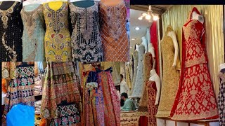 Wedding Shopping From Ichra bazar //Pakistani bridal & fancy dresses from local market