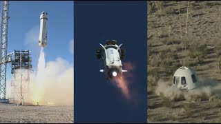 Blue Origin NS-10: New Shepard launch & landing, 23 January 2019