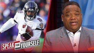 Ravens should rest Lamar Jackson to save for playoffs — Whitlock | NFL | SPEAK FOR YOURSELF