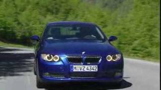 BMW 3-Series Coupé Promo Video(The two-door coupé model of the 3-Series - E92 - became available in August 2006. It is also the first BMW coupé offered with xDrive. All E92s also come ..., 2008-03-27T19:42:04.000Z)