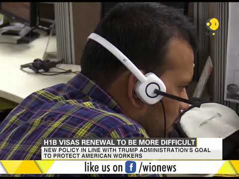 H1B visas renewal to be more difficult