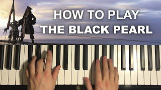 Pirates of the Caribbean - The Black Pearl (Piano Tutorial Lesson)