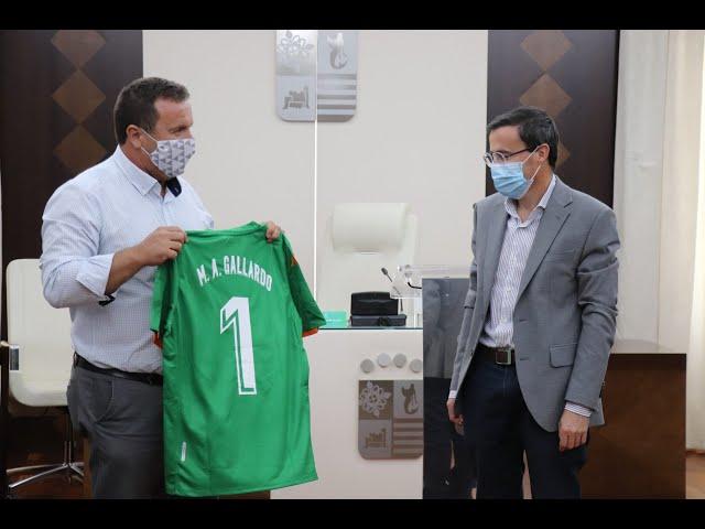 Gallardo pone en valor el trabajo del CF Villanovense que ha conseguido el ascenso a Segunda B