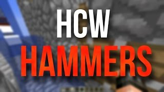 How Cannons Work: Hammers and Sand Stacking (Minecraft)