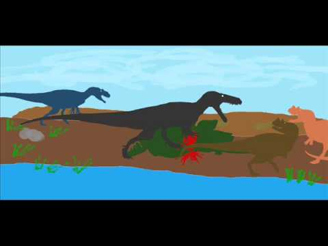 Prehistoric Art ~ Predatory Kill Site