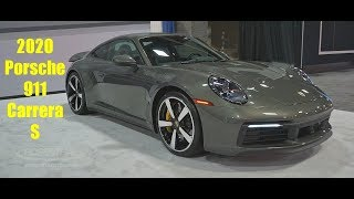 2020 Porsche 911 Carrera S Show & Tell at the DC Auto Show