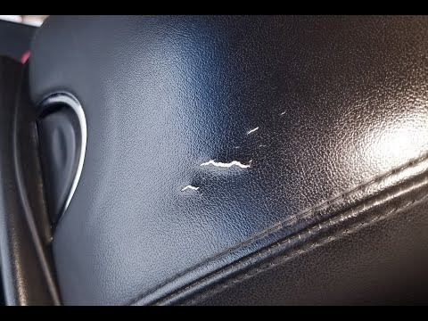 How to replace the center arm rest cover on an Infiniti G37 - tip @ the end