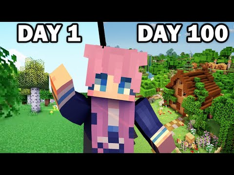 100 Days in a Minecraft World - LDShadowLady