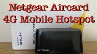 Netgear Aircard 4G Mobile Hotspot - Unboxing and Review