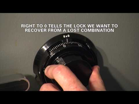 how to change combination lock