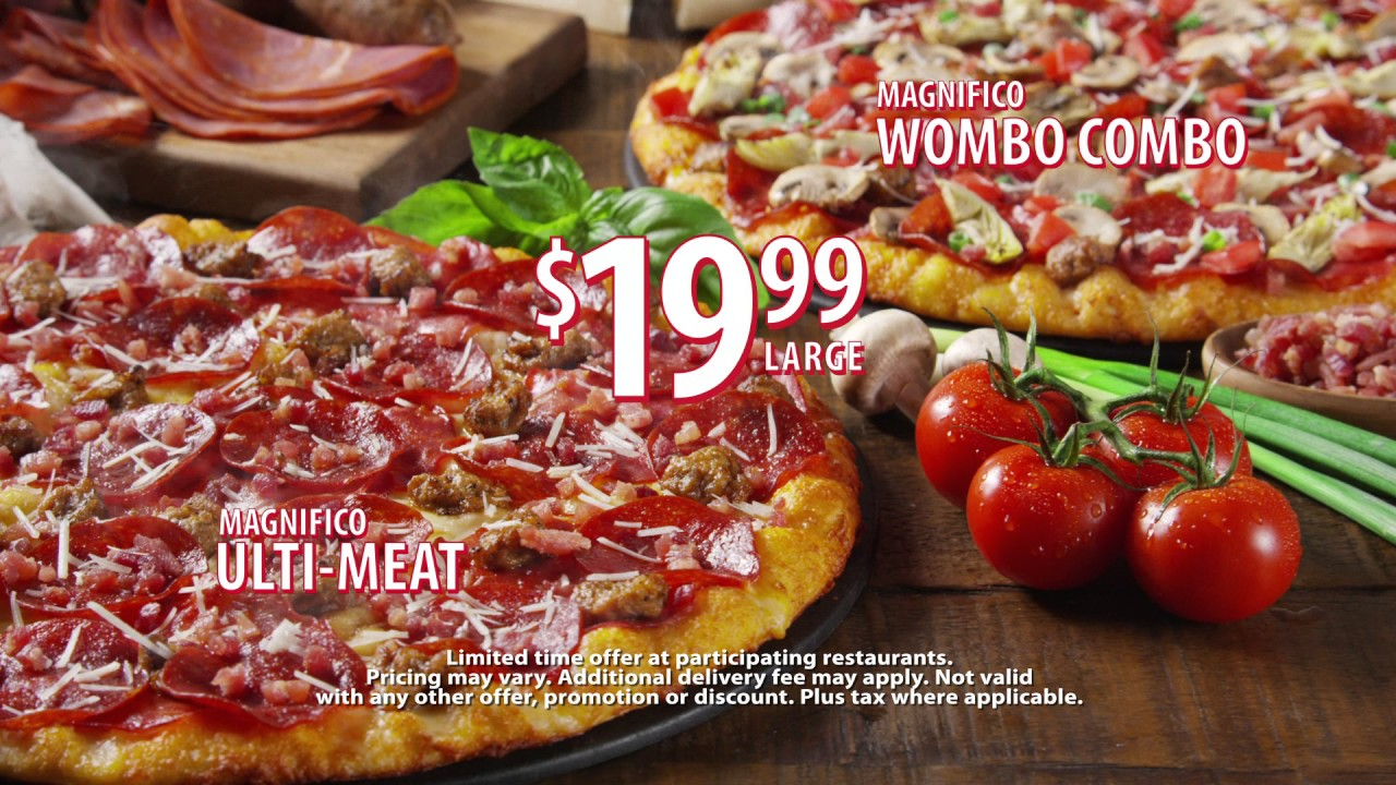 Round Table Pizzas New Magnifico UltiMeat And Wombo Combo Pizzas - Round table delivery fee
