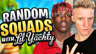 Carrying Lil Yachty in Random Squads