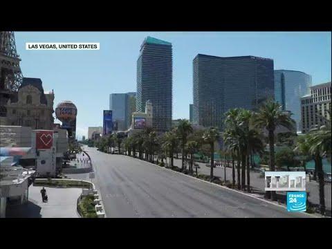 Coronavirus Turns Las Vegas Into Ghost Town