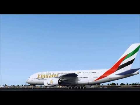 Emirates Airlines Movie HD | FSX