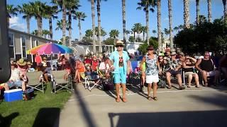 Hippy Generation Spring Break at Anderson-Krom Street Party in Victoria Palms RV Resort Donna Texas